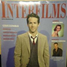Cine: INTERFILMS NUMERO 254 - SEPTIEMBRE 2010 - RYAN REYNOLDS. Lote 202368146
