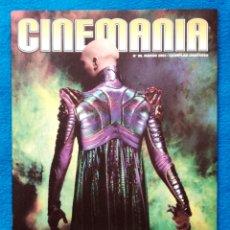 Cine: CINEMANIA - NEMESIS LA SAGA DE STAR TREK - ESPECIAL DE 16 PAGINAS. Lote 202439235