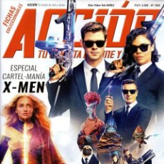 Cine: ACCION N. 1906 JUNIO 2019 - EN PORTADA: MIB INTERNATIONAL (NUEVA). Lote 202474458