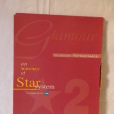 Cine: FOTOGRAMAS - GLAMOUR VOL.2 (LA OTRA CARA DEL GLAMOUR) - ESTUCHE COMPLETO (6 FASCÍCULOS). Lote 202637597