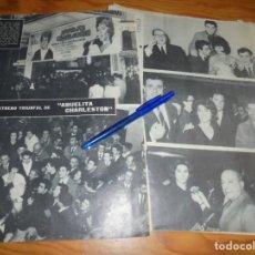 Cine: RECORTE PRENSA : ESTRENO DE LA PELICULA: ABUELITA CHARLESTON. MARUJITA DIAZ. RADIOCINEMA , FBRO 1962. Lote 202685803