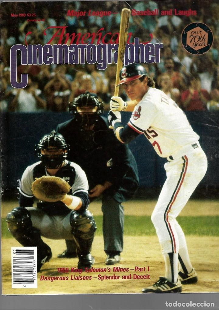 REVISTA EN INGLES AMERICAN CINEMATOGRAPHER MAYO 1987 VOL 70 Nº 5 (Cine - Revistas - Cámara)