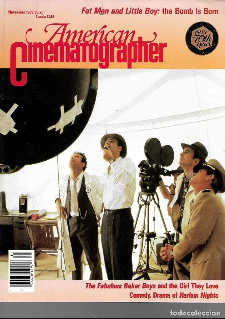 REVISTA EN INGLES AMERICAN CINEMATOGRAPHER OCTUBRE 1989 VOL 70 Nº 11 (Cine - Revistas - Cámara)