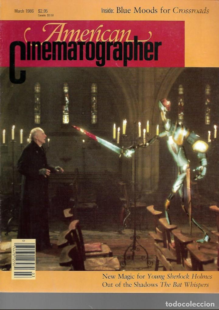 Cine: REVISTA EN INGLES AMERICAN CINEMATOGRAPHER MARZO 1986 VOL 67 Nº 3 - Foto 1 - 202814058