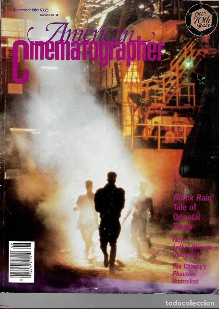 REVISTA EN INGLES AMERICAN CINEMATOGRAPHER SEPTIEMBRE 1989 VOL 70 Nº 9 (Cine - Revistas - Cámara)