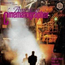 Cine: REVISTA EN INGLES AMERICAN CINEMATOGRAPHER SEPTIEMBRE 1989 VOL 70 Nº 9. Lote 202814667