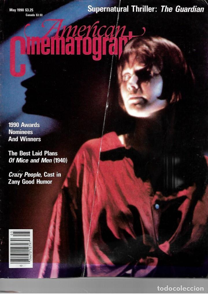 REVISTA EN INGLES AMERICAN CINEMATOGRAPHER SEPTIEMBRE MAYO 1990 VOL 70 Nº 5 (Cine - Revistas - Cámara)