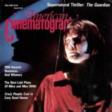 Cine: REVISTA EN INGLES AMERICAN CINEMATOGRAPHER SEPTIEMBRE MAYO 1990 VOL 70 Nº 5. Lote 202814783