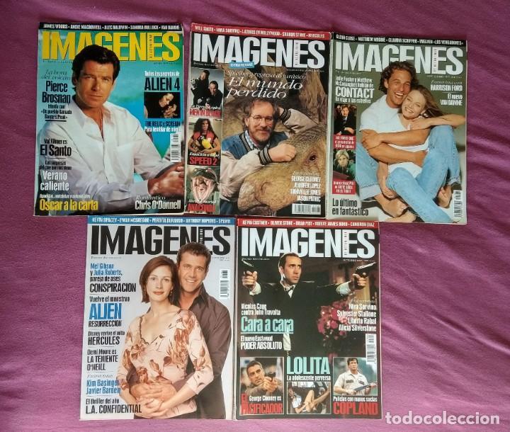 REVISTA IMÁGENES DE ACTUALIDAD LOTE Nº 158, 161 AL 164 (1997) Y 167 AL 169 (1998) (Cine - Revistas - Imágenes de la actualidad)