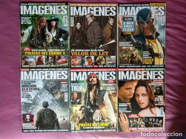 REVISTA IMÁGENES DE ACTUALIDAD LOTE Nº 309 AL 319 (2011 COMPLETO) (Cine - Revistas - Imágenes de la actualidad)