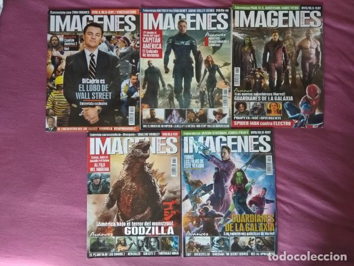 REVISTA IMÁGENES DE ACTUALIDAD LOTE Nº 342, 344 AL 352 (2014) (Cine - Revistas - Imágenes de la actualidad)