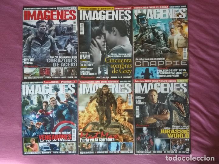 REVISTA IMÁGENES DE ACTUALIDAD LOTE Nº 353 AL 363 (2015) (Cine - Revistas - Imágenes de la actualidad)