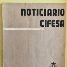 Cine: CINE- NOTICIARIO CIFESA- Nº 13 AÑO 1936. Lote 202866938