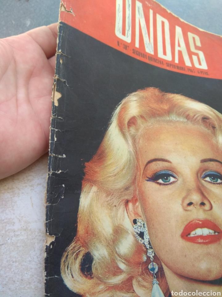 Cine: Portada Revista Ondas con fotografía de Carrol Baker - año 1965 - Sólo Portada - - Foto 2 - 202914943