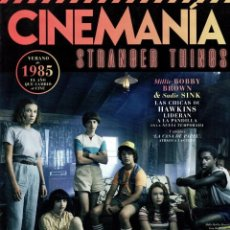 Cine: CINEMANIA N. 286 JULIO 2019 - EN PORTADA: STRANGER THINGS (NUEVA). Lote 216486733