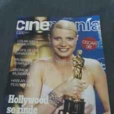 Cine: REVISTA CINEMANIA N° 43 . ESPECIAL OSCAR 98 .. Lote 203189606