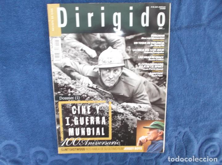 DIRIGIDO POR Nº 446, DOSSIER 1 CINE Y 1 GUERRA MUNDIAL, 100 ANIVERSARIO, CLINT EASTWOOD (Cine - Revistas - Dirigido por)