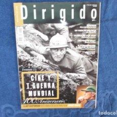 Cine: DIRIGIDO POR Nº 446, DOSSIER 1 CINE Y 1 GUERRA MUNDIAL, 100 ANIVERSARIO, CLINT EASTWOOD. Lote 277132973