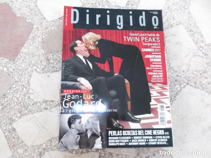 DIRIGIDO POR Nº 478,DOSSIER (3) JEAN -LUC GODARD,PERLAS OCULTAS DEL CINE NEGRO (2),TWIN PEAKS TEM-3 (Cine - Revistas - Dirigido por)