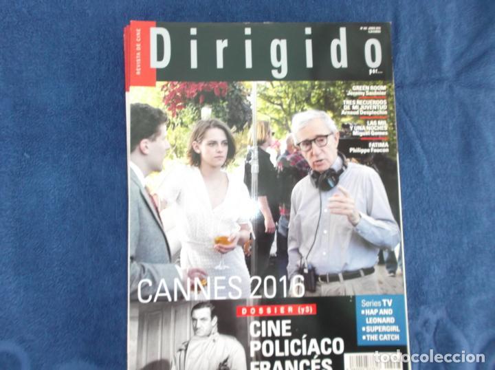 DIRIGIDO POR Nº 467,DOSSIER (3) CINE POLICIACO FRANCES, LAS MIL Y UNA NOCHE, GREEN ROOM (Cine - Revistas - Dirigido por)