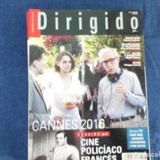 Cinema: DIRIGIDO POR Nº 467,DOSSIER (3) CINE POLICIACO FRANCES, LAS MIL Y UNA NOCHE, GREEN ROOM. Lote 266766803