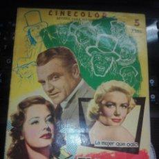 Cine: REVISTA CINECOLOR EL HOMBRE DE LAS MIL CARAS (1958). Lote 203258537