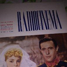 Cinema: SARA MONTIEL RADIOCINEMA GRAN REPORTEGE DE LA PELÍCULA ALHUCEMAS 1947. Lote 203339770
