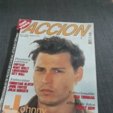 Cine: REVISTA ACCION N° 47 JOHNNY DEPP.. Lote 203789486