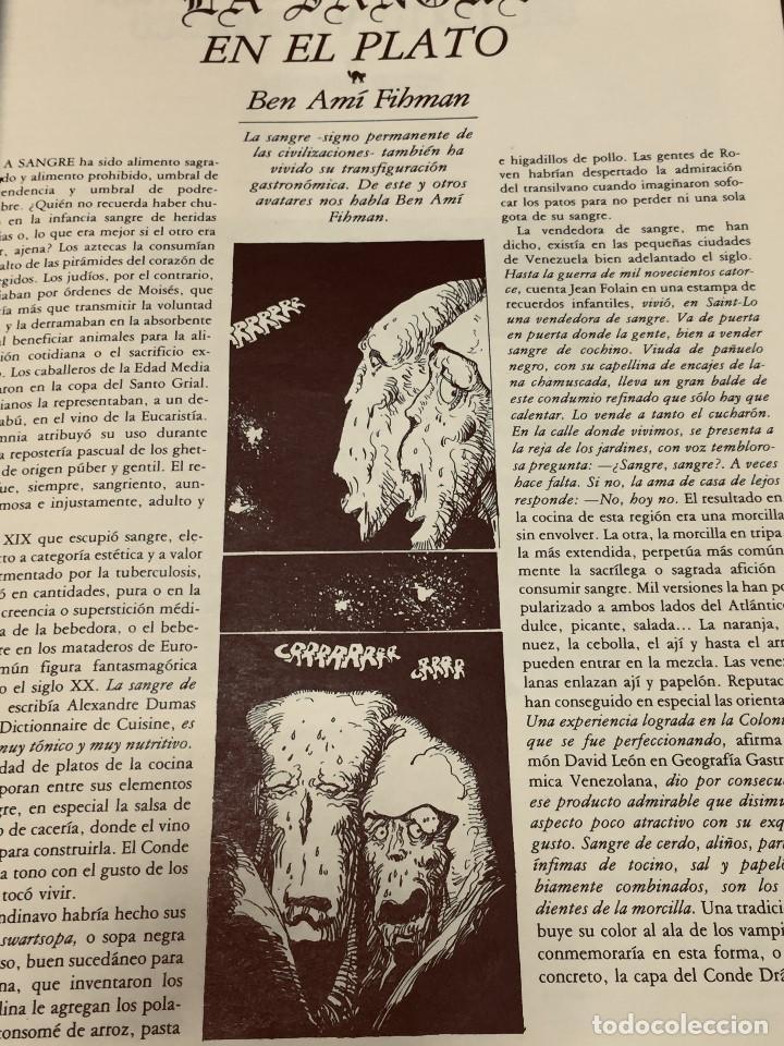 Cine: REVISTA CRITICARTE CIEN AÑOS CON DRACULA 2NDA ETAPA N 5 OCTUBRE 1987 VENEZUELA 30X22CMS - Foto 4 - 203827553