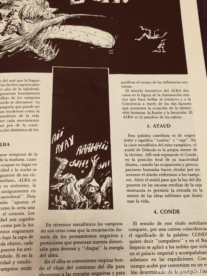 Cine: REVISTA CRITICARTE CIEN AÑOS CON DRACULA 2NDA ETAPA N 5 OCTUBRE 1987 VENEZUELA 30X22CMS - Foto 5 - 203827553