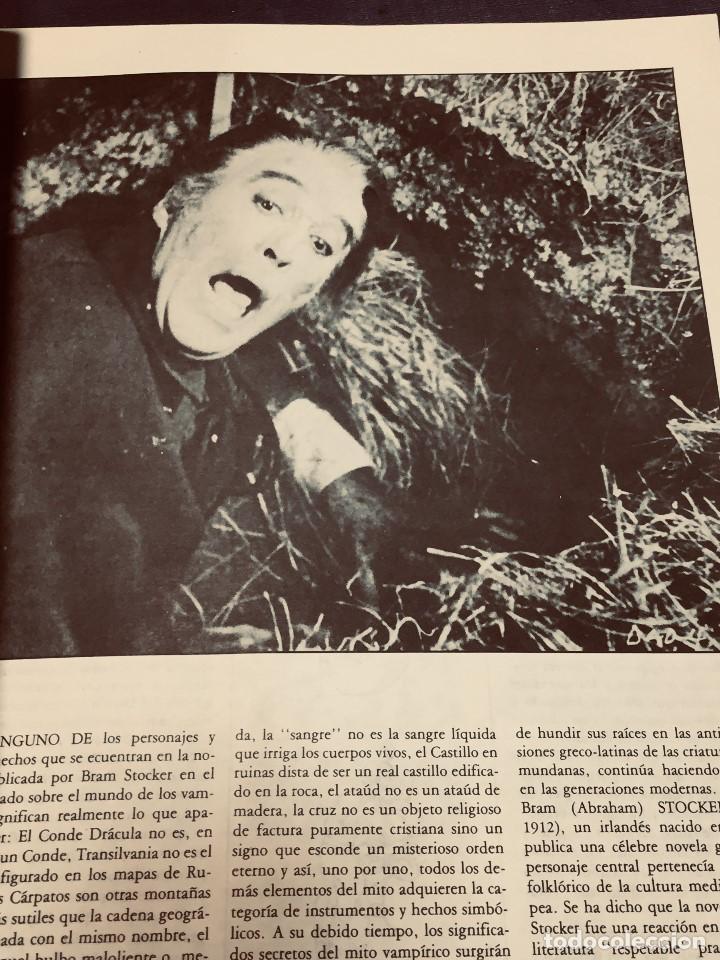 Cine: REVISTA CRITICARTE CIEN AÑOS CON DRACULA 2NDA ETAPA N 5 OCTUBRE 1987 VENEZUELA 30X22CMS - Foto 6 - 203827553