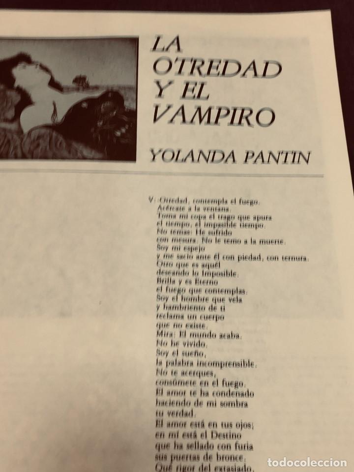 Cine: REVISTA CRITICARTE CIEN AÑOS CON DRACULA 2NDA ETAPA N 5 OCTUBRE 1987 VENEZUELA 30X22CMS - Foto 7 - 203827553