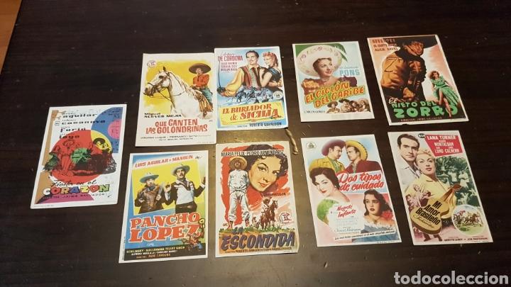 PROGRAMAS DE MANO PELÍCULAS MEJICANAS (Cine - Reproducciones de carteles, folletos...)
