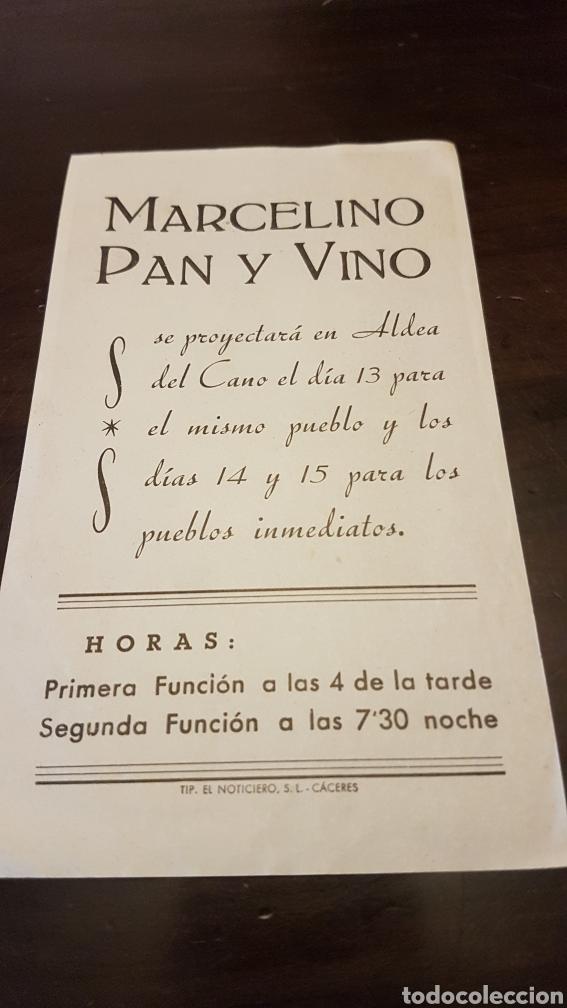 Cine: Programa Marcelino Pan y Vino se proyectará en Aldea del Cano - Foto 2 - 203935791