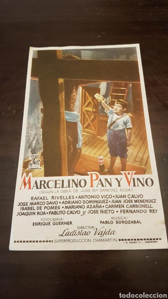 PROGRAMA MARCELINO PAN Y VINO SE PROYECTARÁ EN ALDEA DEL CANO (Cine - Reproducciones de carteles, folletos...)
