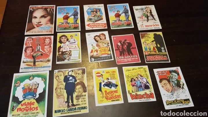 PROGRAMAS DE MANO PELÍCULAS ESPAÑOLAS (Cine - Reproducciones de carteles, folletos...)