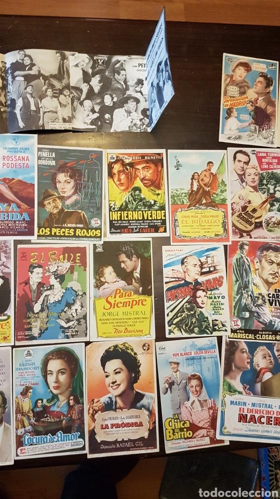 Cine: Lote antiguos programas de mano originales cine español - Foto 3 - 203938015