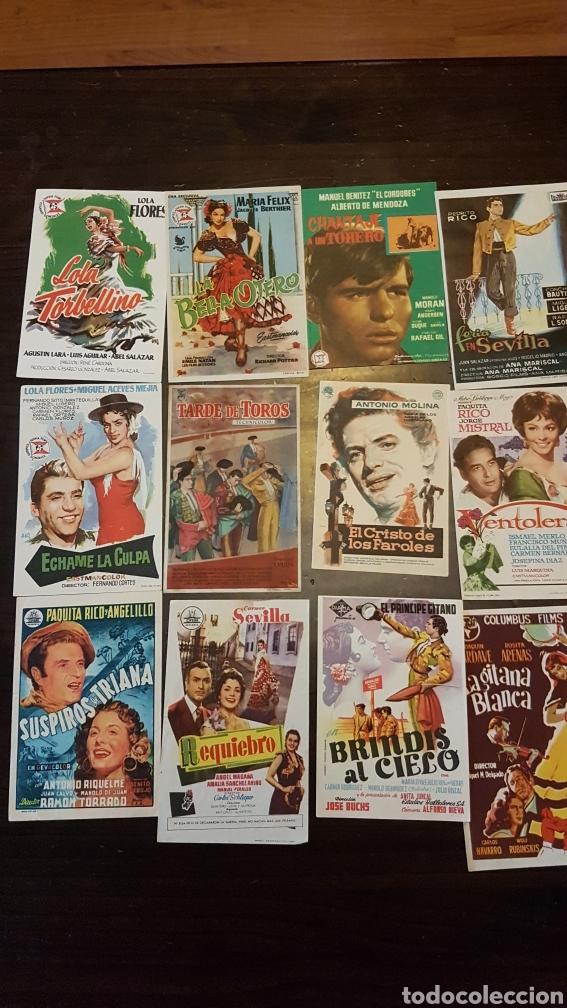 Cine: Programas de mano películas españolas folclóricas - Foto 2 - 203939001
