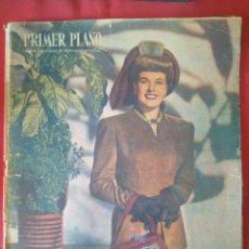 Cine: PRIMER PLANO - Nº 383 - FEBRERO 1948 - JANIS PAIGE, MARLÊNE DIETRICH, MARIA PAZ MOLINERO...... Lote 204010368