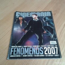 Cine: CINEMANÍA -- Nº 136 -- ENERO 2007 - PIRATAS DEL CARIBE, HARRY POTTER, SPIDER-MAN, CÁNDIDA, CAPTIVITY. Lote 204073223