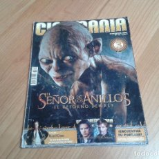 Cine: CINEMANÍA -- Nº 99 -- DICIEMBRE 2003 - EL SEÑOR DE LOS ANILLOS, RUSSEL CROWE, BAR EL CHINO, ELEPHANT. Lote 204074290