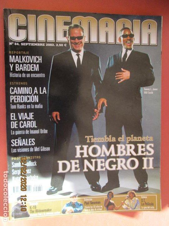 REVISTA CINEMANIA - Nº 84 - SEPTIEMBRE 2002 - HOMBRES DE NEGRO II, BARDEM, TOM HANKS, URIBE ... (Cine - Revistas - Cinemanía)