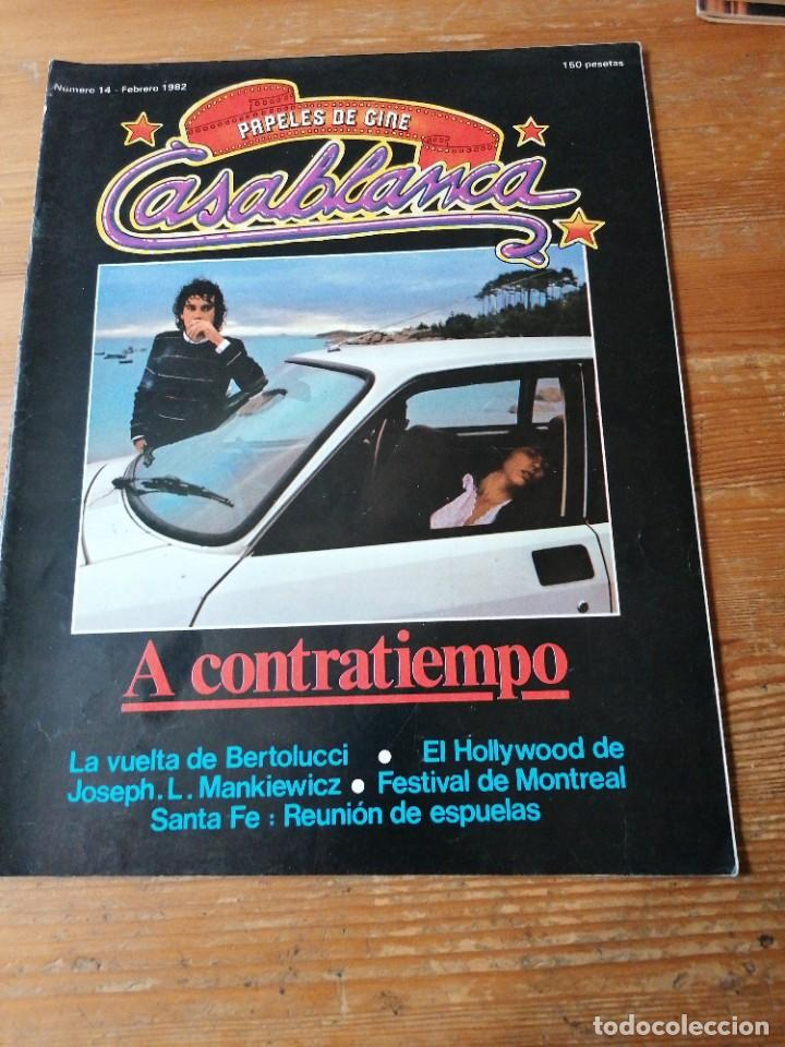 PAPELES DE CINE. CASABLANCA. N. 14 (Cine - Revistas - Papeles de cine)