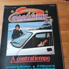 Cine: PAPELES DE CINE. CASABLANCA. N. 14. Lote 204119776