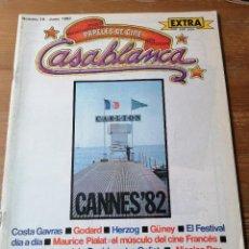 Cinéma: PAPELES DE CINE. CASABLANCA. N. 18. Lote 204119967