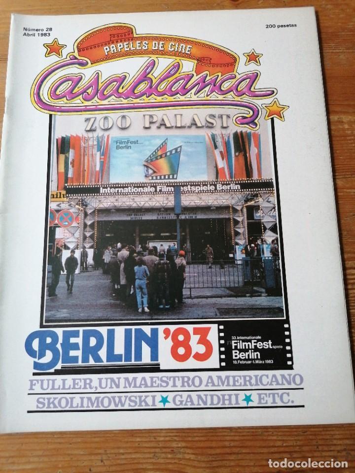 PAPELES DE CINE. CASABLANCA. N.28 (Cine - Revistas - Papeles de cine)