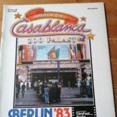 Cine: PAPELES DE CINE. CASABLANCA. N.28. Lote 204120256
