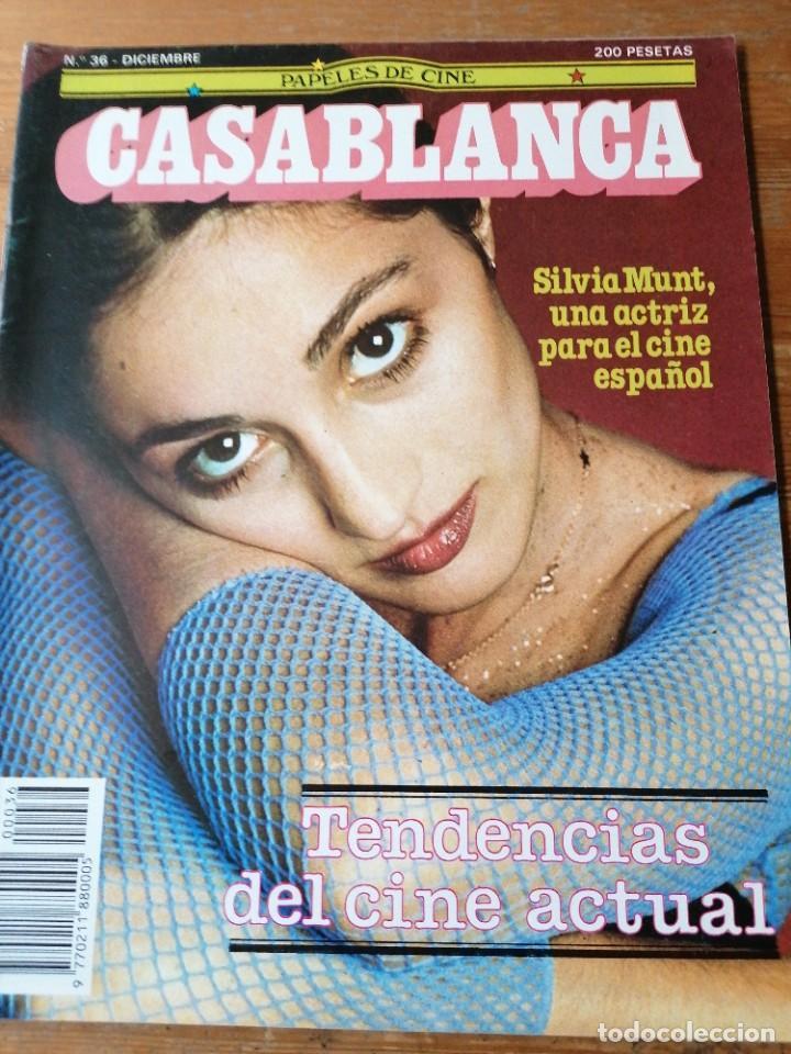 PAPELES DE CINE. CASABLANCA. N.36 (Cine - Revistas - Papeles de cine)
