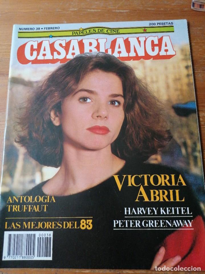 PAPELES DE CINE. CASABLANCA. N.38 (Cine - Revistas - Papeles de cine)