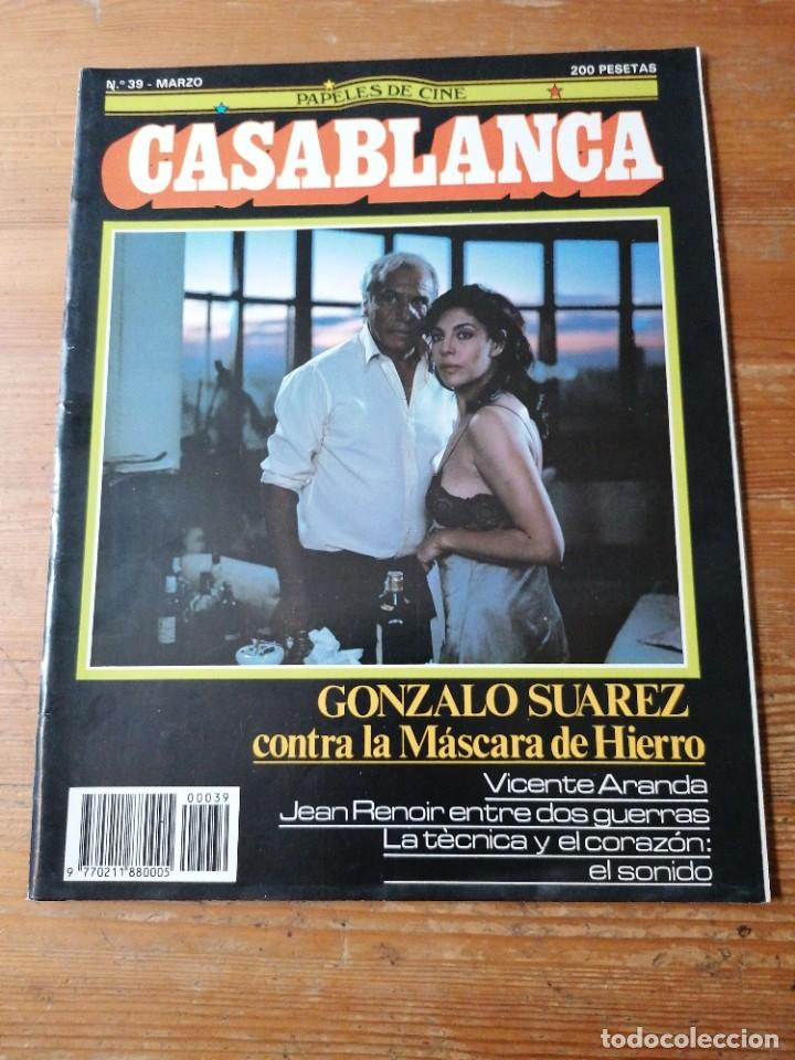 PAPELES DE CINE. CASABLANCA. N.39 (Cine - Revistas - Papeles de cine)